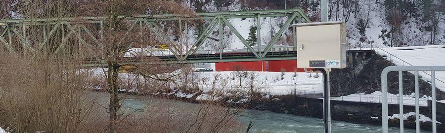 Messstation SBB Brücke Schwanden