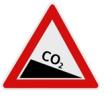 CO2 Emissionsvorschriften Schild