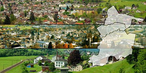 3 Gemeinden - 1 Kanton