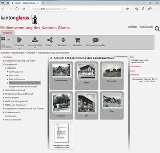 Mediensammlung des Kantons Glarus